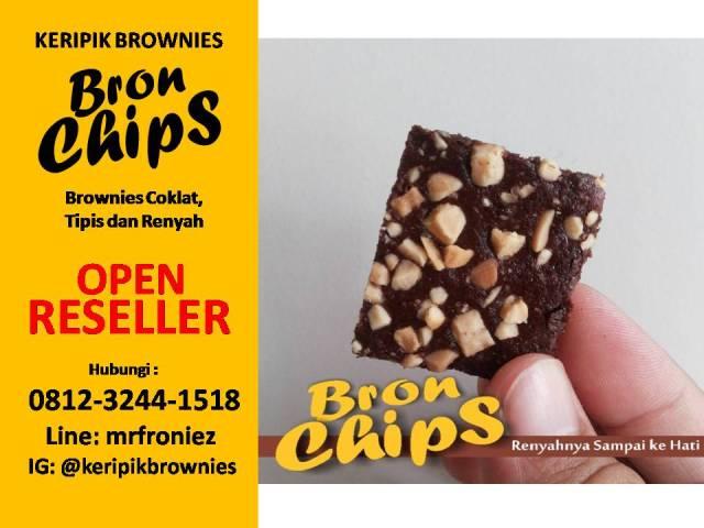 Wa 0812 3244 1518 Peluang Usaha Cemilan Coklat Keripik Brownies